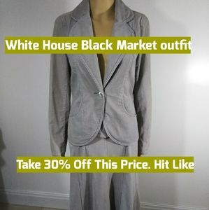 White House Black Market 2 piece
